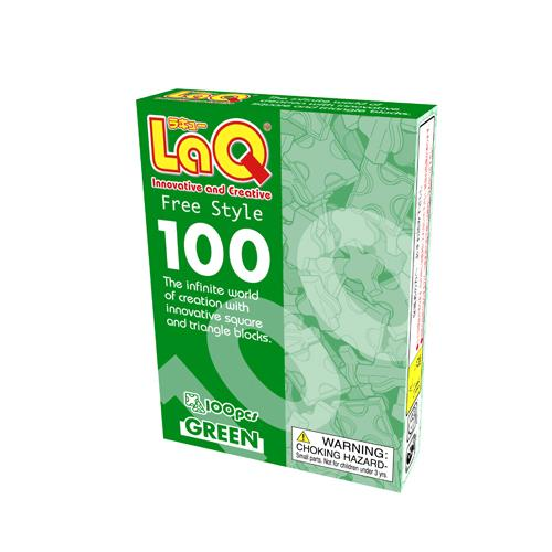 LaQ Free Style 100 green