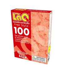 Load image into Gallery viewer, LaQ Free Style 100 red