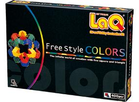Package featured in the LaQ free style colors 1st edition set