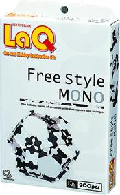 Package featured in the LaQ free style mono set