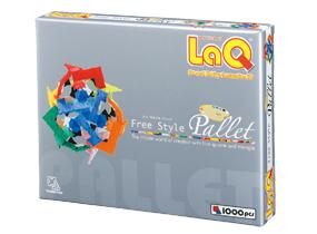 Package featured in the LaQ free style palette 1st edition set