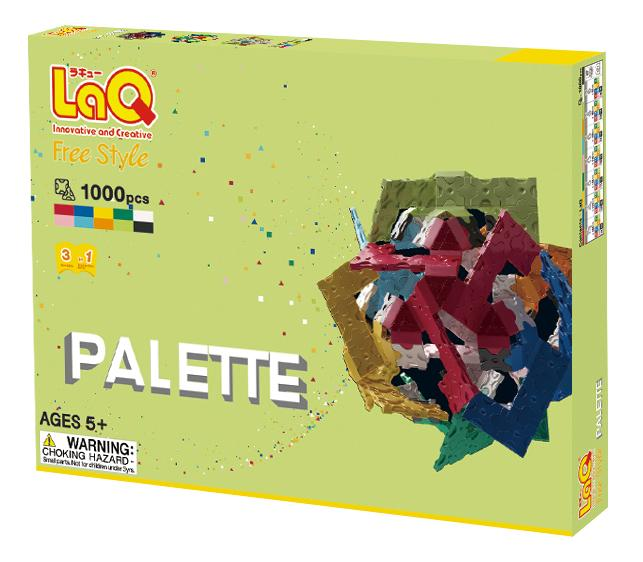 Package featured in the LaQ free style palette 2nd edition set