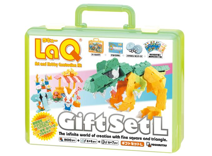 LaQ gift set l 2008 package front side