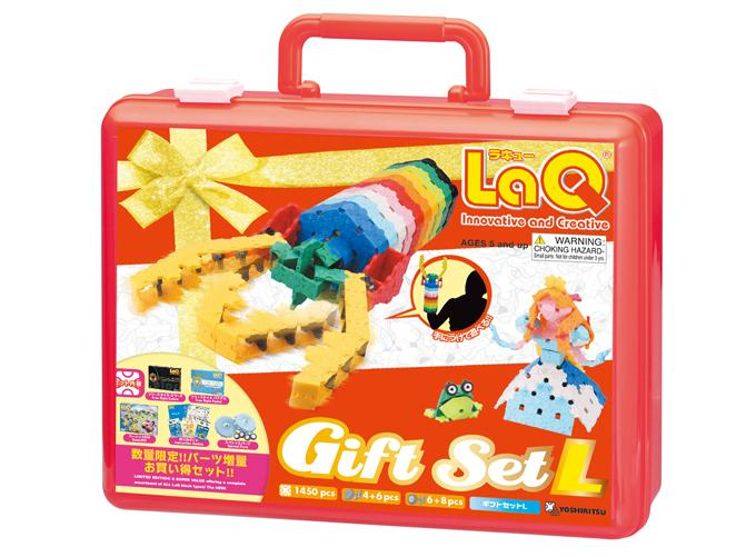 LaQ gift set l 2010 package front side