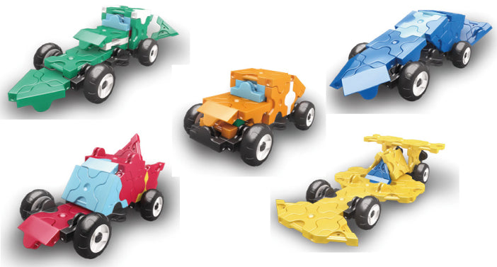 laq hamacron constructor collection 5 mini racer sets