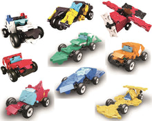 Load image into Gallery viewer, laq hamacron constructor 9 mini racer sets