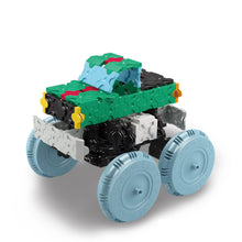 Load image into Gallery viewer, Monster truck featured in the LaQ hamacron constructor express set