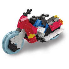 Load image into Gallery viewer, Racing bike featured in the LaQ hamacron constructor express set