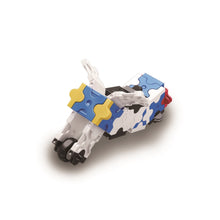 Load image into Gallery viewer, Motorcycle featured in the LaQ hamacron constructor jet fighter set