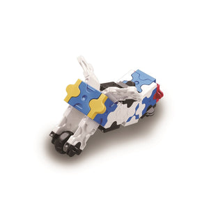 Motorcycle featured in the LaQ hamacron constructor jet fighter set