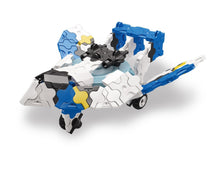 Load image into Gallery viewer, Stealth jet featured in the LaQ hamacron constructor jet fighter set