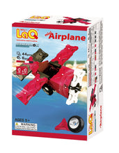Load image into Gallery viewer, Package featured in the LaQ hamacron constructor mini airplane set