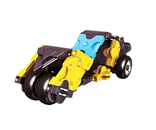 Load image into Gallery viewer, Left view featured in the LaQ hamacron constructor mini drag racer set