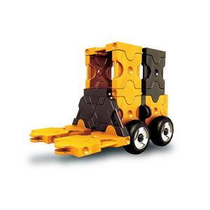 Main model featured in the LaQ hamacron constructor mini forklift set