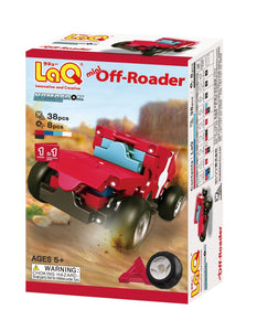 Package featured in the LaQ hamacron constructor mini offroader set