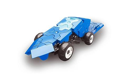 Car featured in the LaQ hamacron constructor mini racer 2 blue set