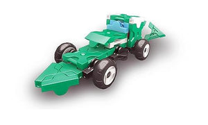 Car featured in the LaQ hamacron constructor mini racer 3 green set
