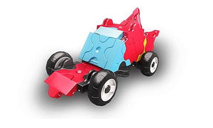Car featured in the LaQ hamacron constructor mini racer 1 red set