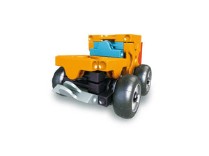 Off roader featured in the LaQ hamacron constructor mini wheel loader set