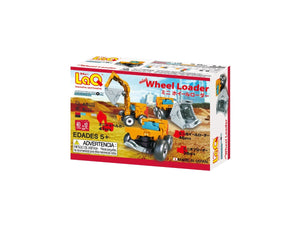 Wheel loader package back view from the LaQ hamacron constructor series