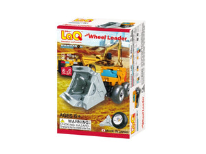Wheel loader package front view from the LaQ hamacron constructor series
