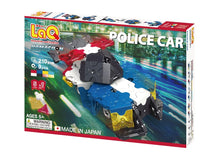 Load image into Gallery viewer, Package front view featured in the LaQ hamacron constructor police car set