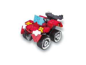 Dune buggy featured in the LaQ hamacron constructor speed wheels set