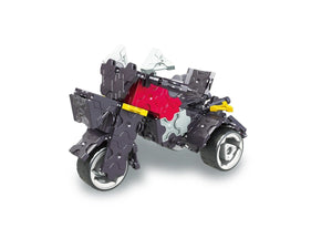 Motor trike featured in the LaQ hamacron constructor speed wheels set