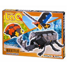 Load image into Gallery viewer, Package featured in the LaQ hobby kit beetle set