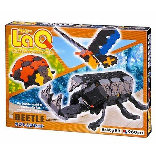 Package featured in the LaQ hobby kit beetle set