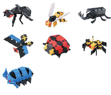 Load image into Gallery viewer, Beetles featured in the LaQ hobby kit beetle set