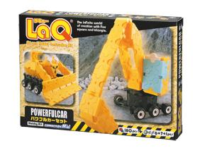 Package featured in the LaQ hobby kit powerful car set