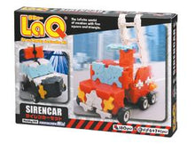 Load image into Gallery viewer, Package featured in the LaQ hobby kit siren car set