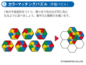 LaQ Mechanical Puzzle (Japanese)