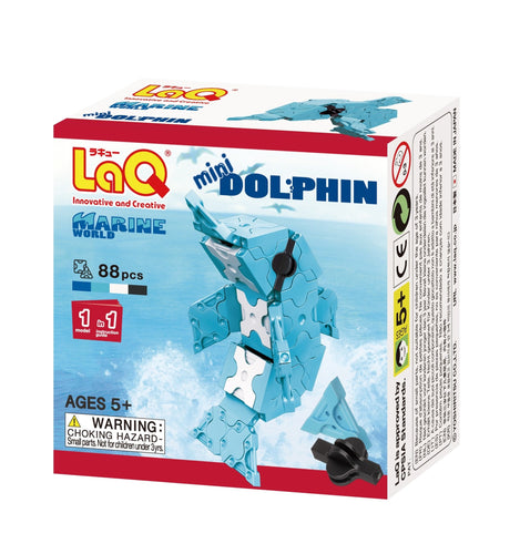 Dolphin featured in the LaQ marine world mini set