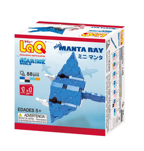 Manta ray featured in the LaQ marine world mini set