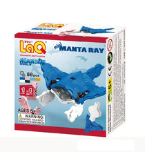 Load image into Gallery viewer, Manta ray featured in the LaQ marine world mini set