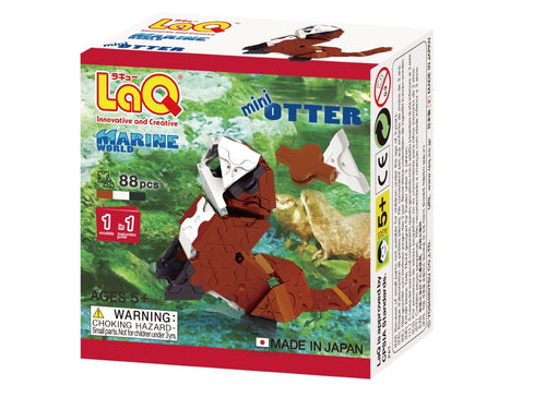 Otter featured in the LaQ marine world mini set