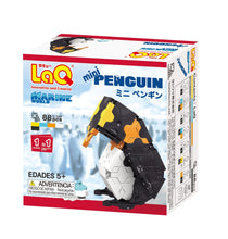 Load image into Gallery viewer, Penguin featured in the LaQ marine world mini set