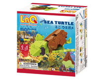 Load image into Gallery viewer, Sea turtle featured in the LaQ marine world mini set