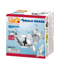 Load image into Gallery viewer, Whale shark featured in the LaQ marine world mini set
