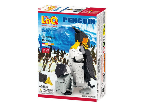 Penguin featured in the LaQ marine world set