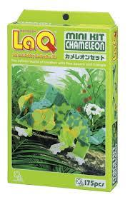 Chameleon featured in the LaQ mini kit set