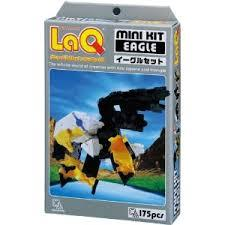 Eagle featured in the LaQ mini kit set