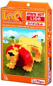 Lion featured in the LaQ mini kit set
