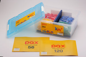 Bin and pieces featured in the LaQ pax 264 set