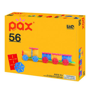 Package featured in the LaQ pax 56 set