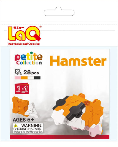 Hamster set package featured in the LaQ petite set