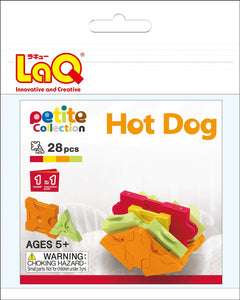 Hot dog set package featured in the LaQ petite set