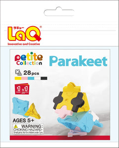 Parakeet set package featured in the LaQ petite set